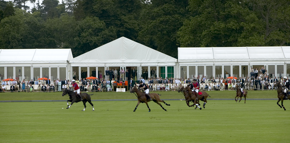 Peppers Marquee for Polo match